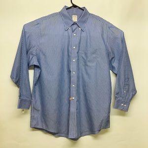 Brook Brothers dress shirt stripped 17 1/2-4/5